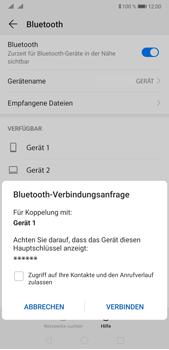 Huawei P20 Pro - Android Pie - Bluetooth - Verbinden von Geräten - Schritt 7