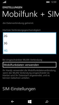 Microsoft Lumia 640 XL - Netzwerk - Netzwerkeinstellungen ändern - Schritt 6