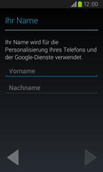 Samsung Galaxy S2 Plus - Apps - Konto anlegen und einrichten - 1 / 1