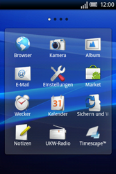 Sony Ericsson Xperia X8 - WLAN - Manuelle Konfiguration - Schritt 3