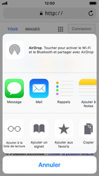 Apple iPhone 5s - iOS 11 - Internet et roaming de données - Navigation sur Internet - Étape 7