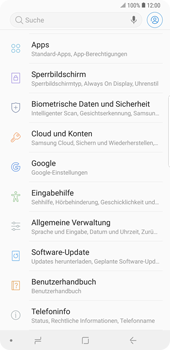 Samsung Galaxy Note9 - Software - Installieren von Software-Updates - Schritt 5