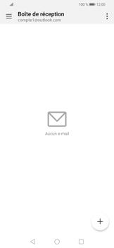 Huawei P Smart (2019) - E-mails - Ajouter ou modifier votre compte Outlook - Étape 8