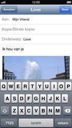 Apple iPhone 5 - E-mail - E-mails verzenden - Stap 10