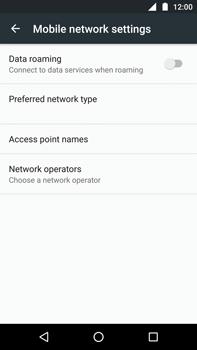 Motorola Moto Z Play - Network - Usage across the border - Step 6