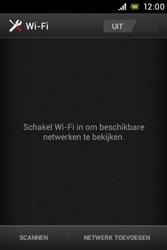 Sony ST21i Xperia Tipo - WiFi - Handmatig instellen - Stap 6