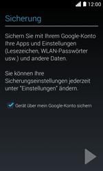 Huawei Ascend Y330 - Apps - Konto anlegen und einrichten - Schritt 23