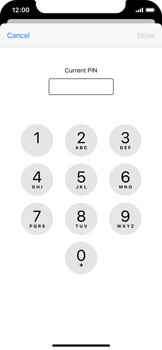 Apple iPhone 11 Pro - Security - Set the PIN code for your SIM card - Step 6