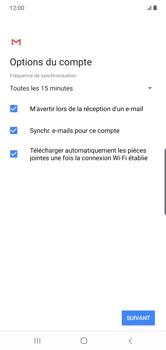 Samsung Galaxy Note10 Plus - E-mail - Configuration manuelle - Étape 20