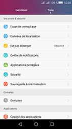 Huawei Y6 II Compact - Appareil - Réinitialisation de la configuration d