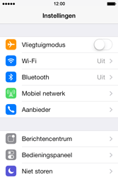 Apple iPhone 4 met iOS 7 - Buitenland - Bellen, sms en internet - Stap 3