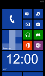HTC Windows Phone 8S - Internet - Internetten - Stap 1