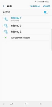 Samsung Galaxy Note 8 - Internet et connexion - Accéder au réseau Wi-Fi - Étape 9