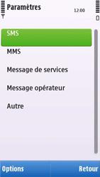 Nokia C6-00 - SMS - configuration manuelle - Étape 5