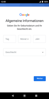 Sony Xperia XZ2 - Android Pie - Apps - Konto anlegen und einrichten - Schritt 8