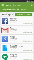 HTC One Max - Applications - Comment vérifier les mises à jour des applications - Étape 6