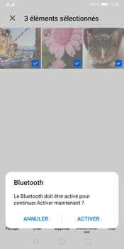 Huawei Y5P - Photos, vidéos, musique - Envoyer une photo via Bluetooth - Étape 10