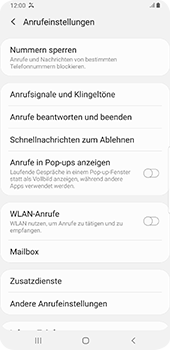 Samsung Galaxy S9 Plus - Anrufe - Anrufe blockieren - 6 / 11