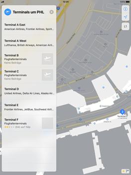 Apple iPad mini 2 - iOS 11 - Indoor-Karten (Einkaufszentren/Flughäfen) - 1 / 1