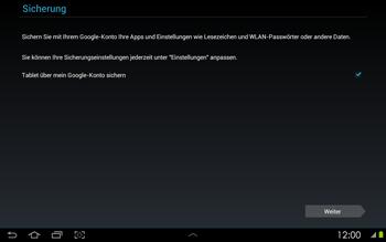 Samsung Galaxy Tab 2 10-1 - Apps - Konto anlegen und einrichten - 13 / 17