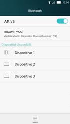Huawei Y5 - Bluetooth - Collegamento dei dispositivi - Fase 5
