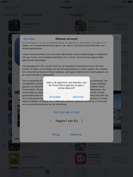 Apple iPad Mini 4 - Applicaties - Account aanmaken - Stap 10