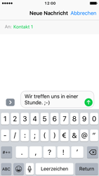 Apple iPhone SE - iOS 10 - MMS - Erstellen und senden - Schritt 10