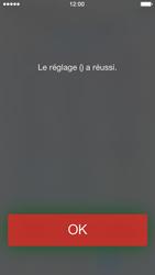 Apple iPhone 5 iOS 7 - Messagerie vocale - configuration manuelle - Étape 7
