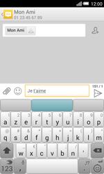 Alcatel OT-5050X Pop S3 - Contact, Appels, SMS/MMS - Envoyer un SMS - Étape 9