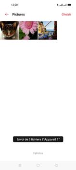 Oppo A53s - Photos, vidéos, musique - Envoyer une photo via Bluetooth - Étape 15