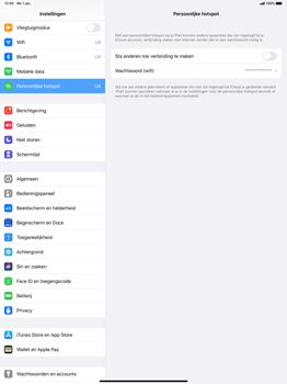 Apple iPad Pro 12.9 inch 4th generation (2020) (Model A2232) - WiFi - Mobiele hotspot instellen - Stap 6