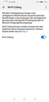 Huawei P20 - Android Pie - WiFi - WiFi Calling aktivieren - Schritt 9