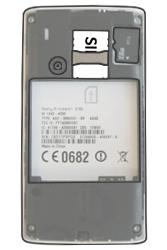 Sony Ericsson Xperia X8 - SIM-Karte - Einlegen - Schritt 4