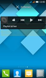 Alcatel One Touch Pop C3 - Startanleitung - installieren von Widgets und Apps auf der Startseite - Schritt 7
