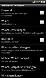 HTC S510e Desire S - WLAN - Manuelle Konfiguration - Schritt 5