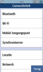 Samsung S7230E Wave TouchWiz - bluetooth - aanzetten - stap 5