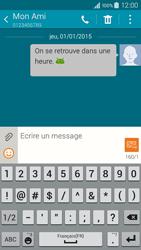 Samsung Galaxy A3 (A300FU) - Contact, Appels, SMS/MMS - Envoyer un SMS - Étape 12