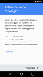 LG LG X Screen - apps - account instellen - stap 13