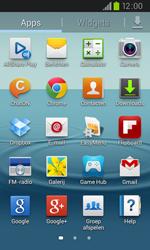 Samsung I9105P Galaxy S II Plus - sms - handmatig instellen - stap 3