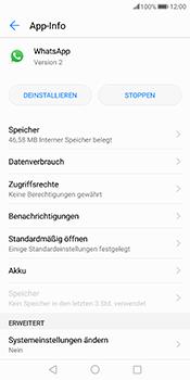Huawei Mate 10 Pro - Apps - Eine App deinstallieren - Schritt 6