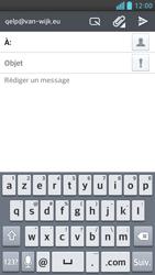 LG D505 Optimus F6 - E-mail - Envoi d