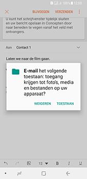 Samsung Galaxy A8 (2018) (SM-A530F) - E-mail - Bericht met attachment versturen - Stap 12