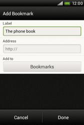 HTC A320e Desire C - Internet - Internet browsing - Step 9