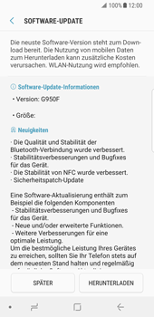 Samsung Galaxy S8 - Android Oreo - Software - Installieren von Software-Updates - Schritt 8