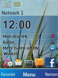 Nokia X2-00 - netwerk en bereik - gebruik in binnen- en buitenland - stap 10