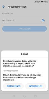 Huawei Mate 10 Lite - E-mail - handmatig instellen (outlook) - Stap 5