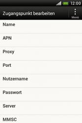 HTC A320e Desire C - Internet - Manuelle Konfiguration - Schritt 8