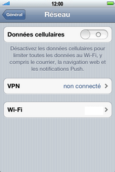 Apple iPhone 4 S - Internet - Désactiver les données mobiles - Étape 5