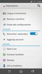 Sony Xperia Z3 - Software - Installazione degli aggiornamenti software - Fase 5