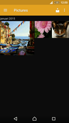 Sony Xperia Z3+ (E6553) - contacten, foto